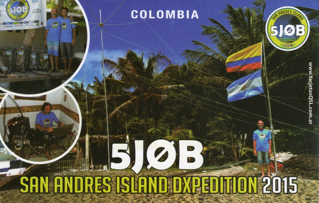 San Andres Island DXpedition 2015