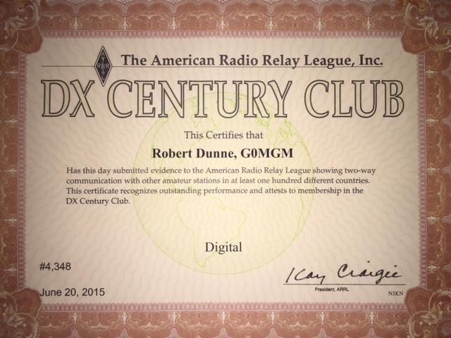 Digital DXCC 2015