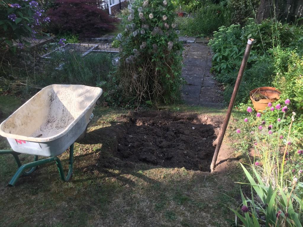 Digging has begun
