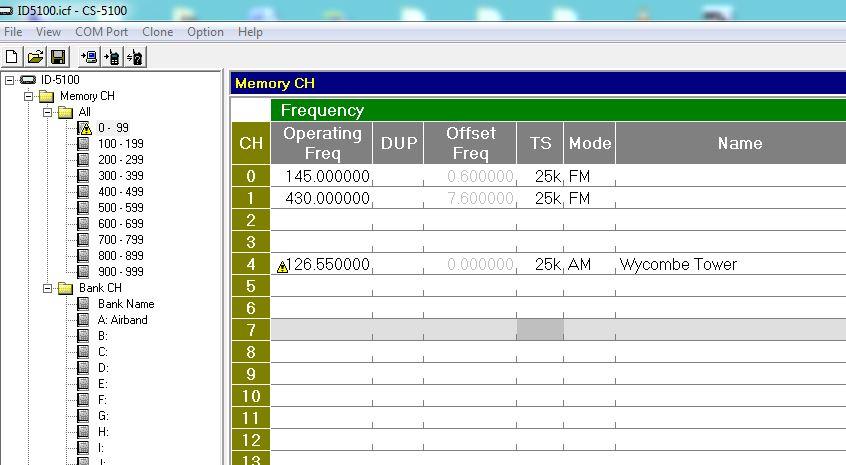 ID5100 error message