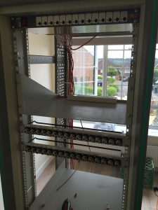 Installing the MDU and the N-type patch panels